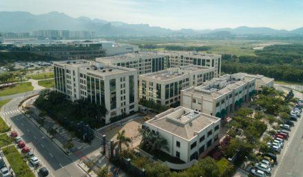 Condomínio Universe Empresarial visto de cima | Vantagens de a sua empresa estar em um Centro Empresarial