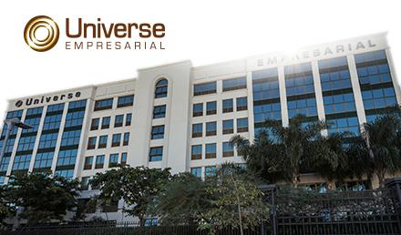 Foto do condomínio Universe Empresarial visto de fora | Diferenciais do Universe Empresarial